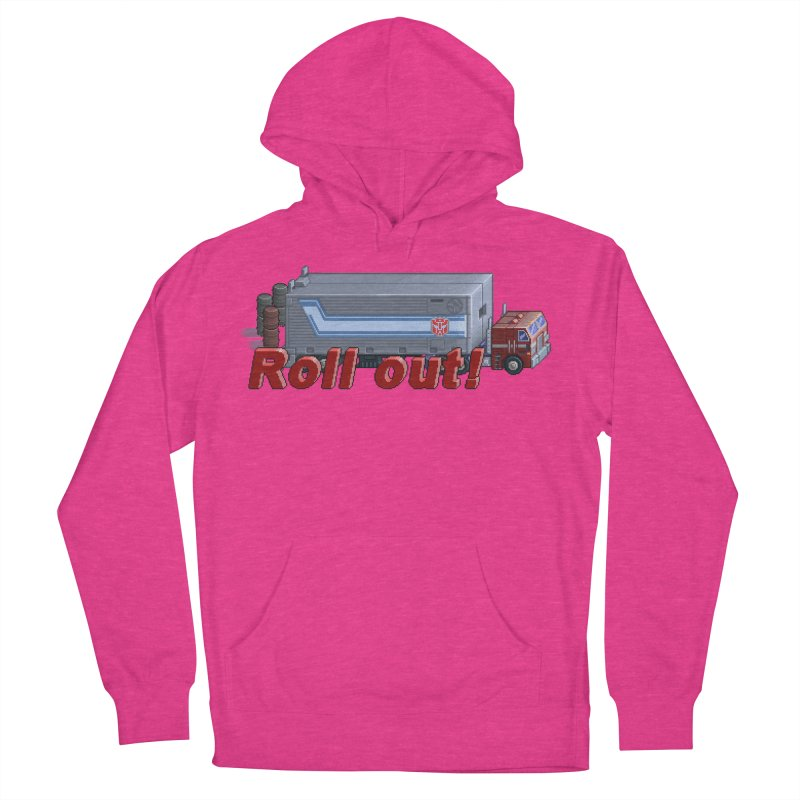 Transform and Roll out! Women's Pullover Hoody by Pixel Panzers's Merchandise