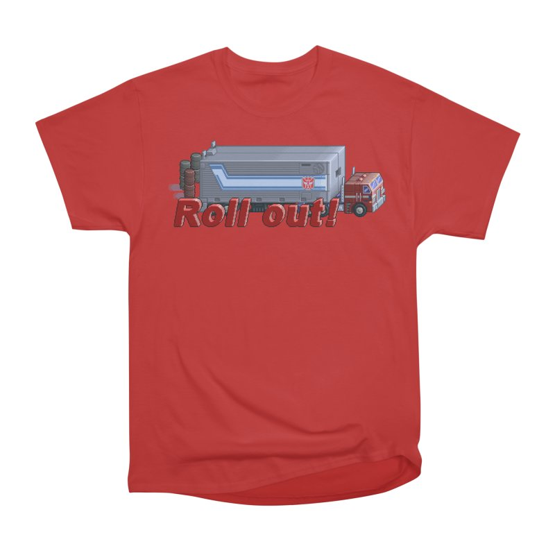Transform and Roll out! Women's Heavyweight Unisex T-Shirt by Pixel Panzers's Merchandise