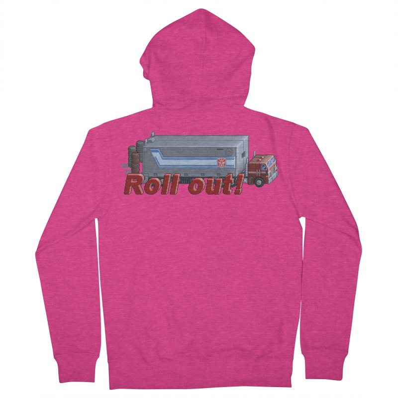 Transform and Roll out! Women's French Terry Zip-Up Hoody by Pixel Panzers's Merchandise