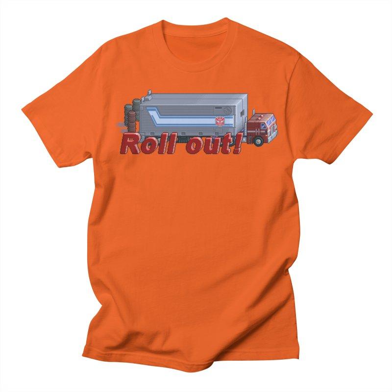 Transform and Roll out! Women's Regular Unisex T-Shirt by Pixel Panzers's Merchandise