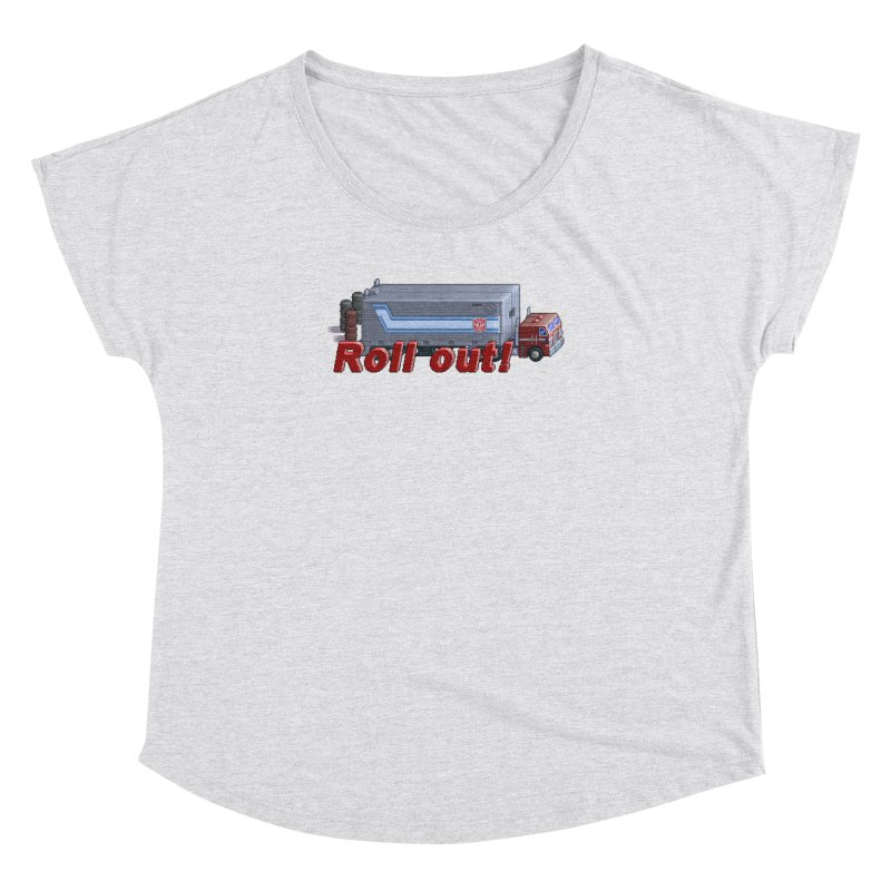 Transform and Roll out! Women's Dolman Scoop Neck by Pixel Panzers's Merchandise