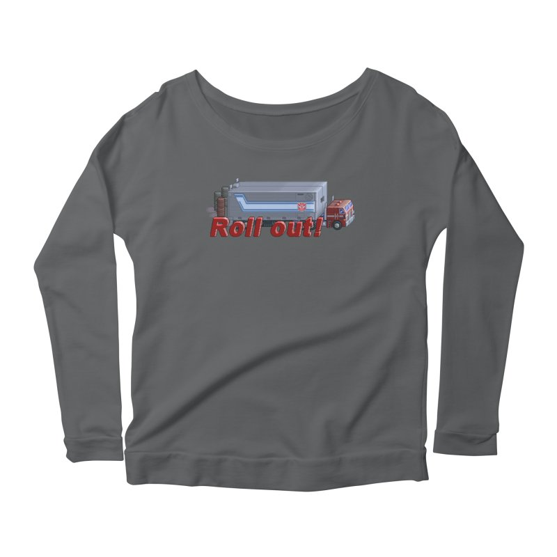 Transform and Roll out! Women's Scoop Neck Longsleeve T-Shirt by Pixel Panzers's Merchandise