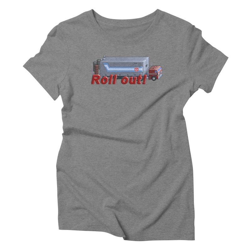 Transform and Roll out! Women's Triblend T-Shirt by Pixel Panzers's Merchandise