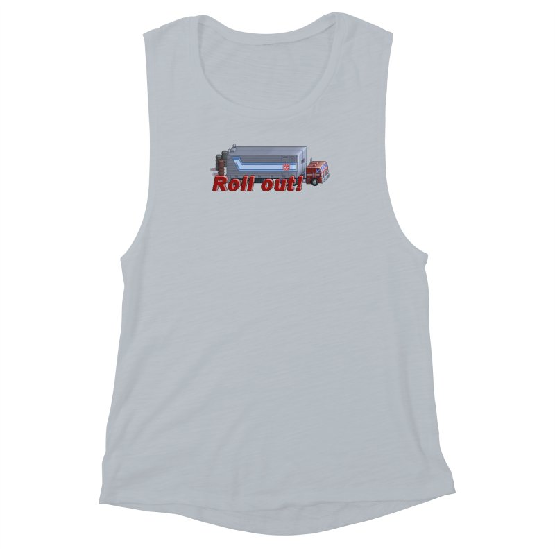 Transform and Roll out! Women's Muscle Tank by Pixel Panzers's Merchandise