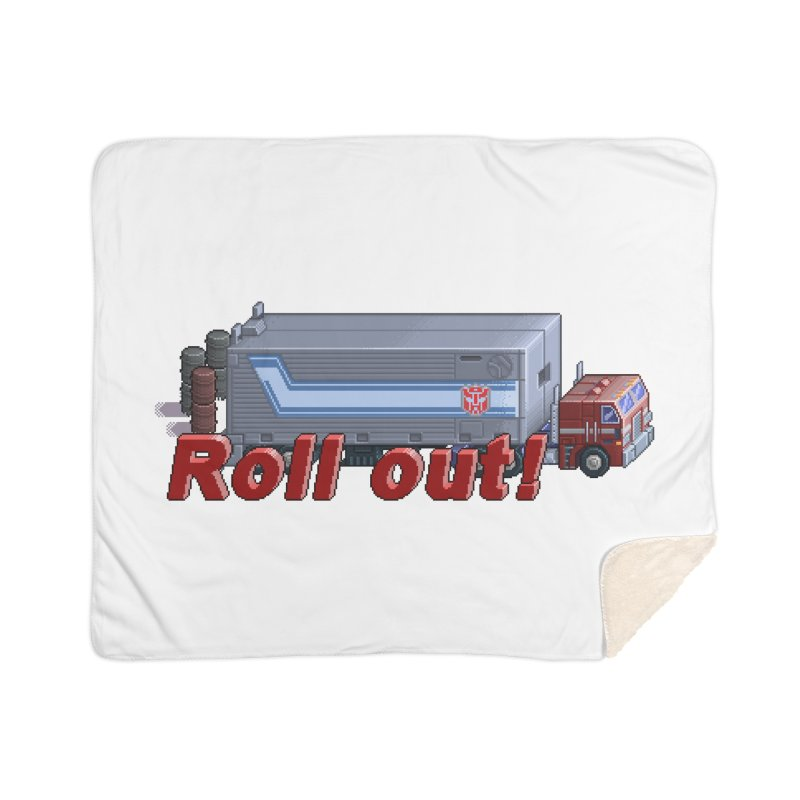 Transform and Roll out! Home Sherpa Blanket Blanket by Pixel Panzers's Merchandise