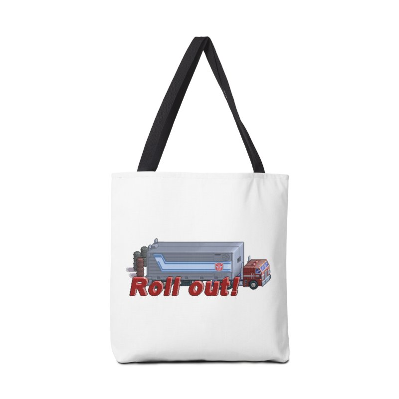 Transform and Roll out! Accessories Bag by Pixel Panzers's Merch Emporium
