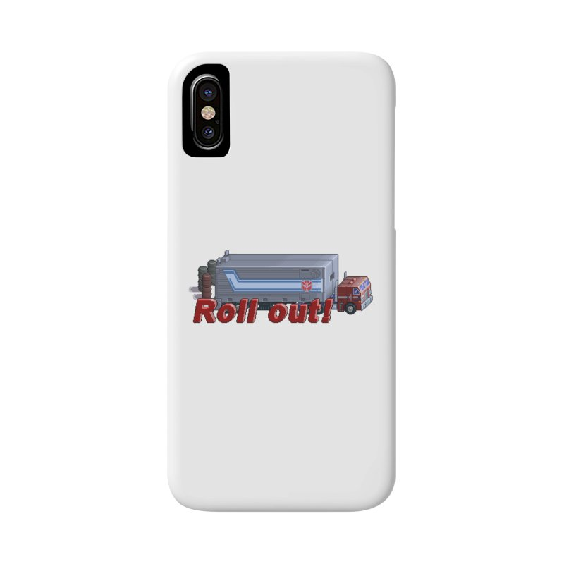 Transform and Roll out! Accessories Phone Case by Pixel Panzers's Merch Emporium