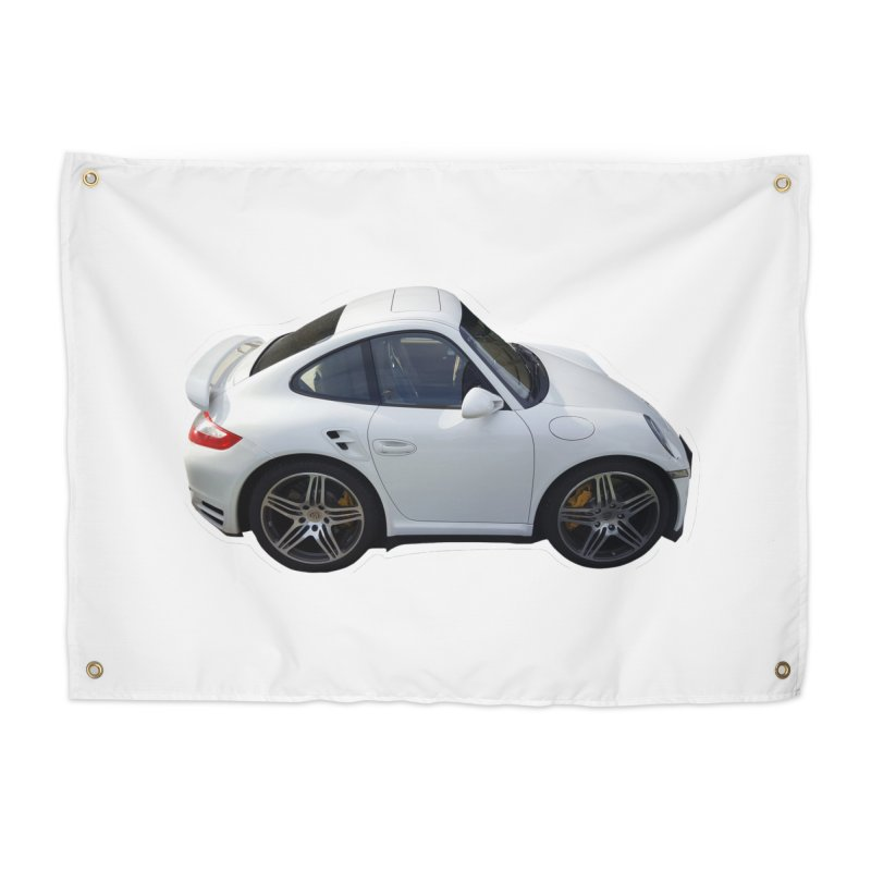Mini 911 Turbo  Home Tapestry by Pixel Panzers's Merch Emporium