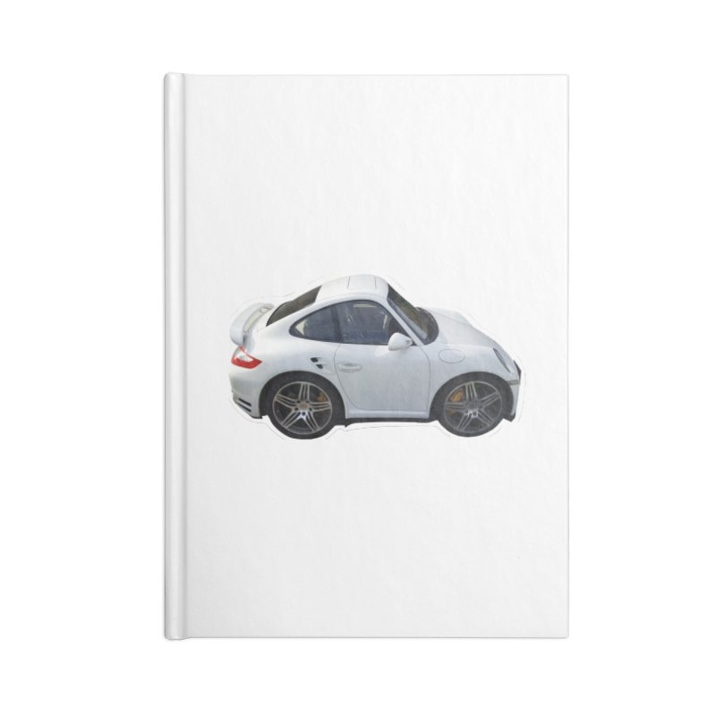 Mini 911 Turbo  Accessories Notebook by Pixel Panzers's Merch Emporium
