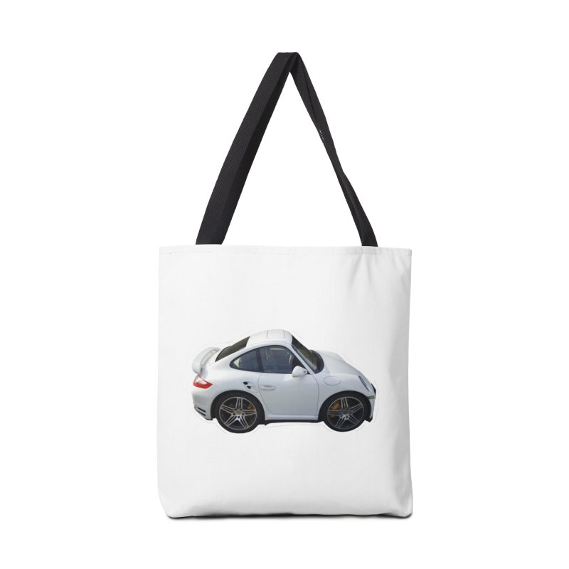 Mini 911 Turbo  Accessories Bag by Pixel Panzers's Merch Emporium