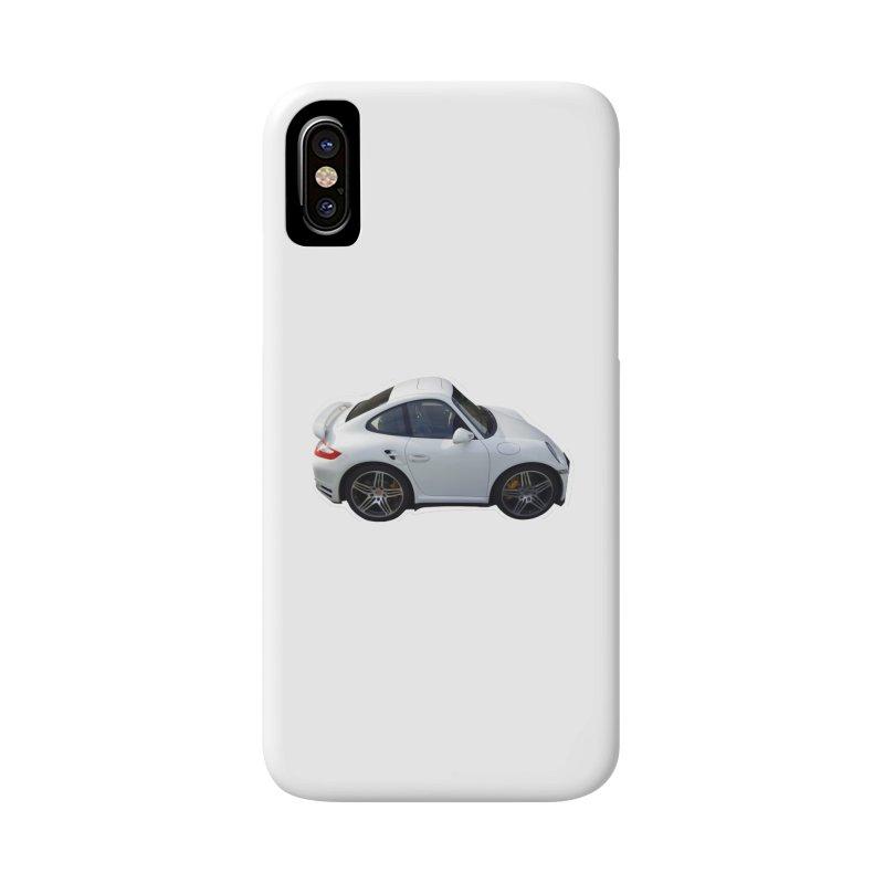 Mini 911 Turbo  Accessories Phone Case by Pixel Panzers's Merch Emporium