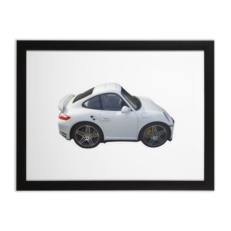 Mini 911 Turbo  Home Framed Fine Art Print by Pixel Panzers's Merch Emporium