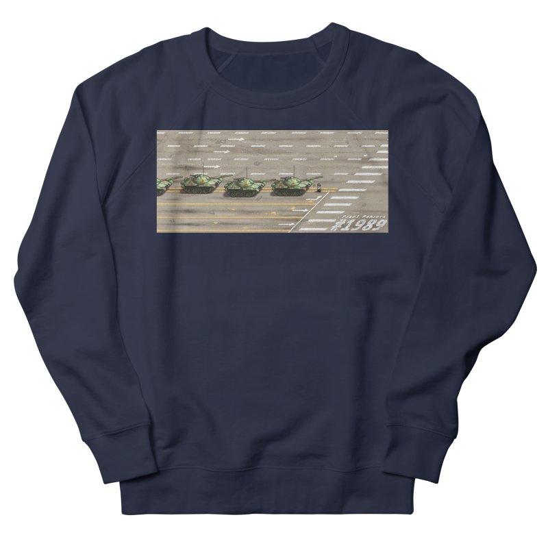1989 Tiananmen Square Tankman Pixel Art Piece Women's Sweatshirt by Pixel Panzers's Merchandise
