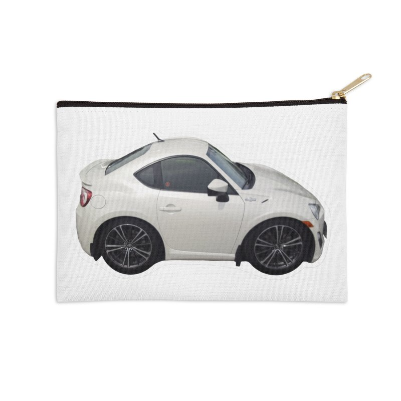 Mini Toyota GT86  Accessories Zip Pouch by Pixel Panzers's Merch Emporium