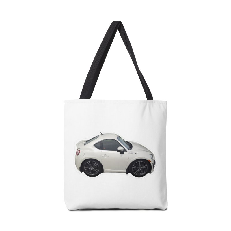 Mini Toyota GT86  Accessories Bag by Pixel Panzers's Merch Emporium
