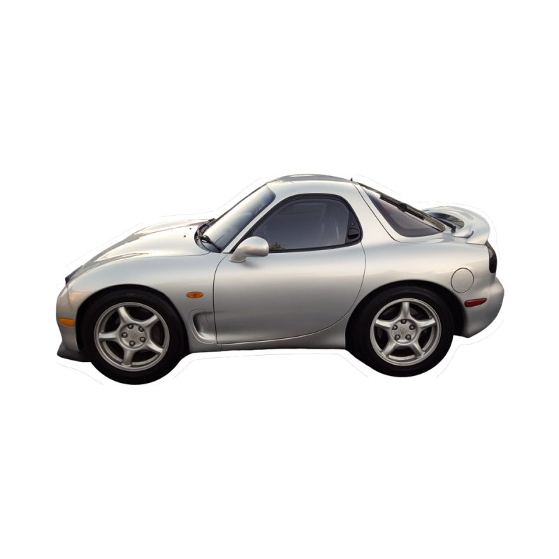 Mini Mazda RX-7 by Pixel Panzers's Merch Emporium