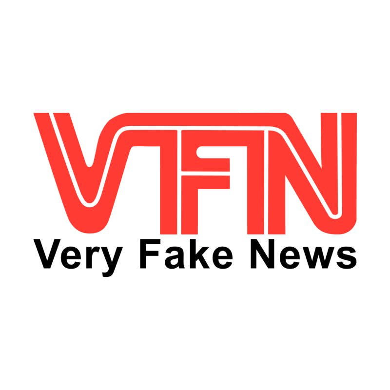 VFN - Very Fake News Network by Pixel Panzers's Merch Emporium