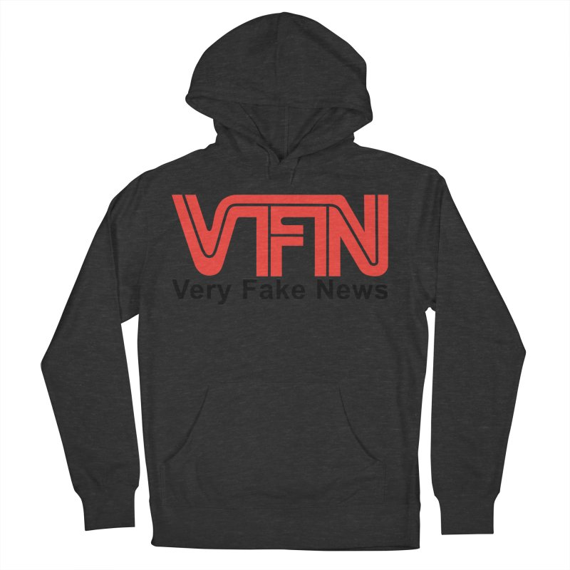 VFN - Very Fake News Network Women's Pullover Hoody by Pixel Panzers's Merchandise