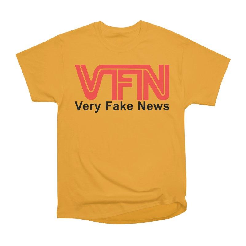 VFN - Very Fake News Network Women's Heavyweight Unisex T-Shirt by Pixel Panzers's Merchandise