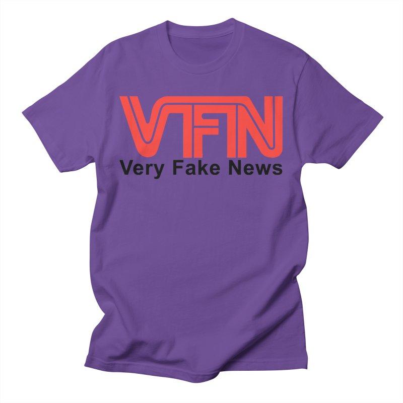 VFN - Very Fake News Network Women's Regular Unisex T-Shirt by Pixel Panzers's Merchandise