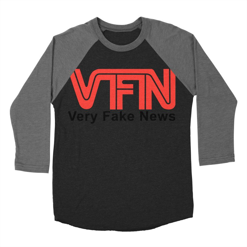 VFN - Very Fake News Network Women's Baseball Triblend T-Shirt by Pixel Panzers's Merchandise