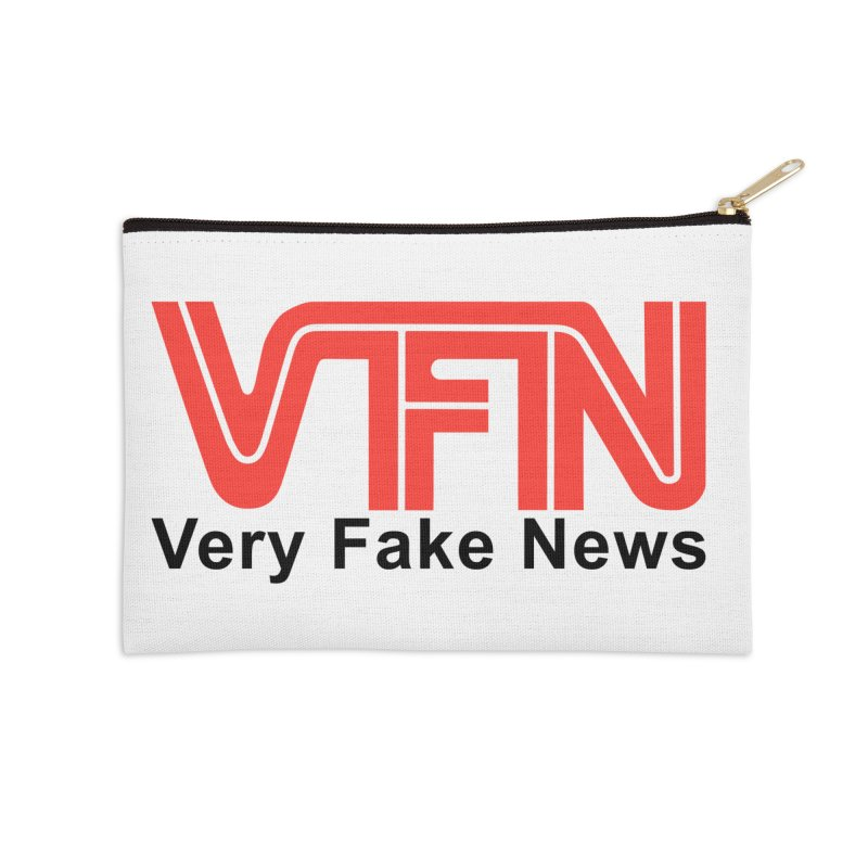 VFN - Very Fake News Network Accessories Zip Pouch by Pixel Panzers's Merchandise