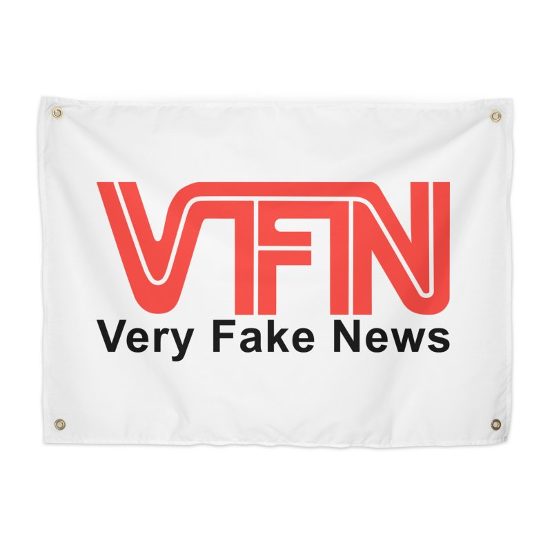 VFN - Very Fake News Network Home Tapestry by Pixel Panzers's Merchandise