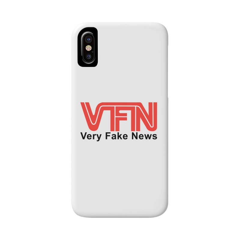 VFN - Very Fake News Network Accessories Phone Case by Pixel Panzers's Merch Emporium