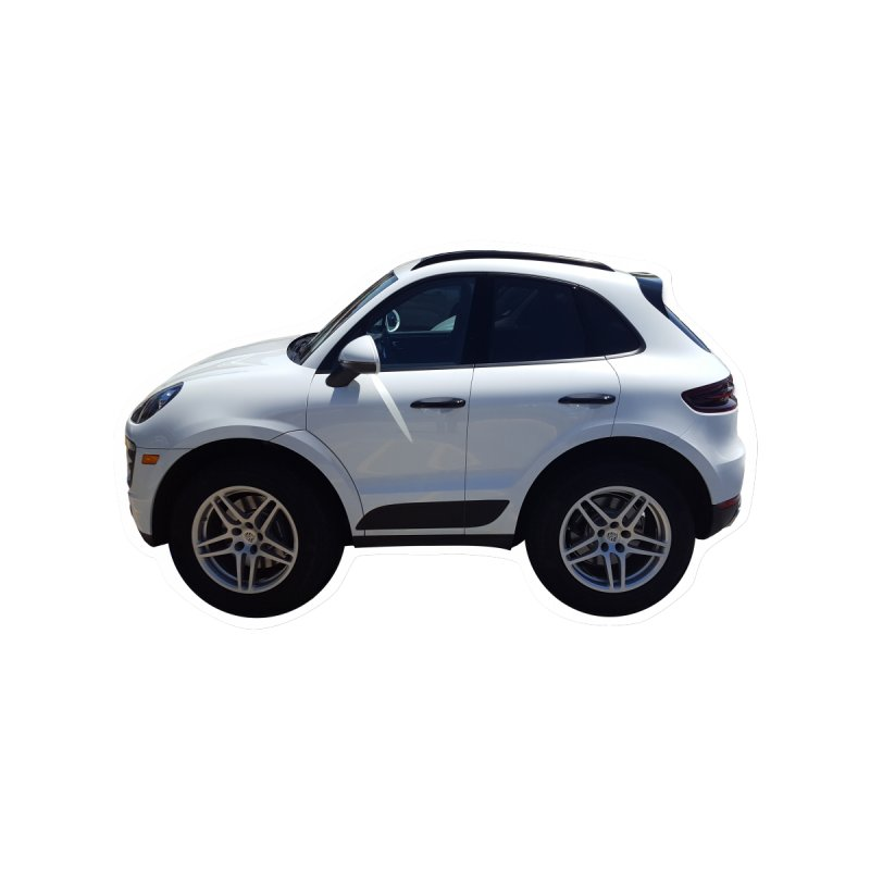 Mini Porsche Macan by Pixel Panzers's Merch Emporium