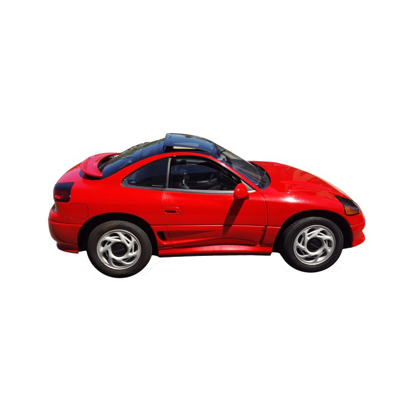 Mini Dodge Stealth RT by Pixel Panzers's Merch Emporium