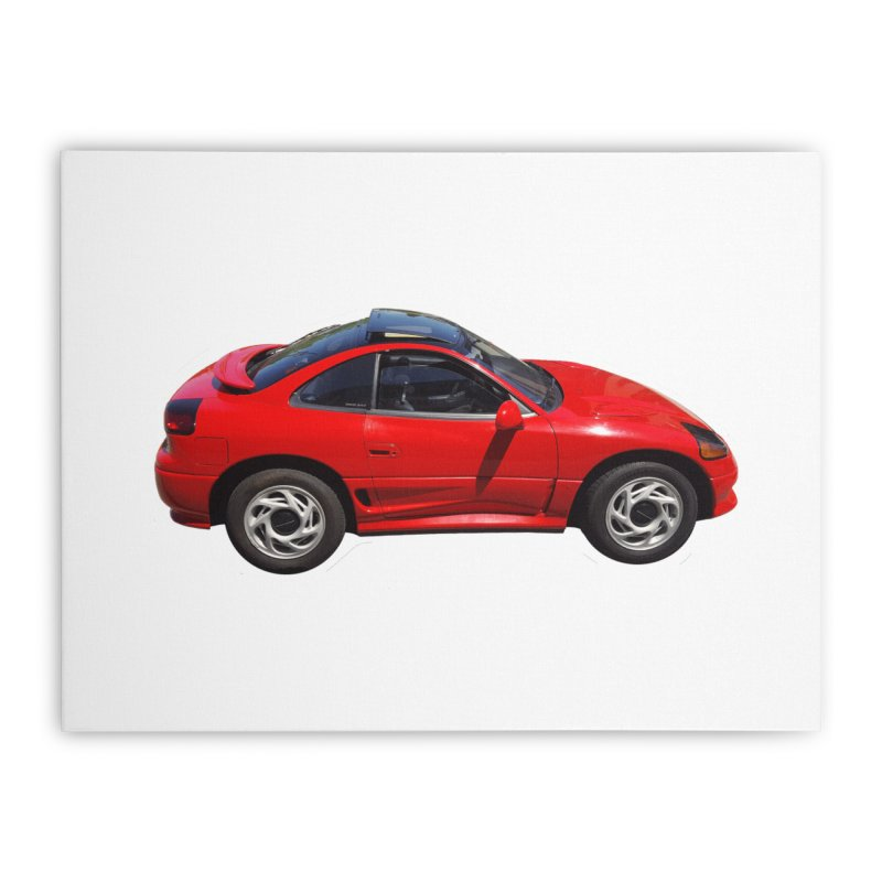 Mini Dodge Stealth RT Home Stretched Canvas by Pixel Panzers's Merch Emporium
