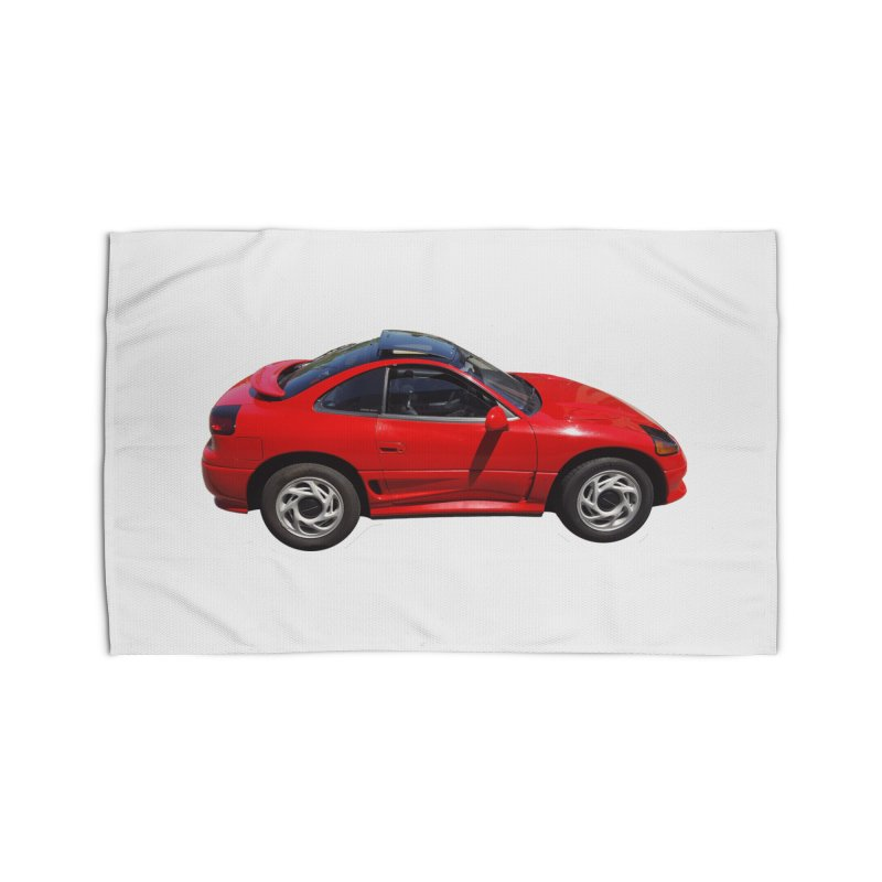 Mini Dodge Stealth RT Home Rug by Pixel Panzers's Merch Emporium