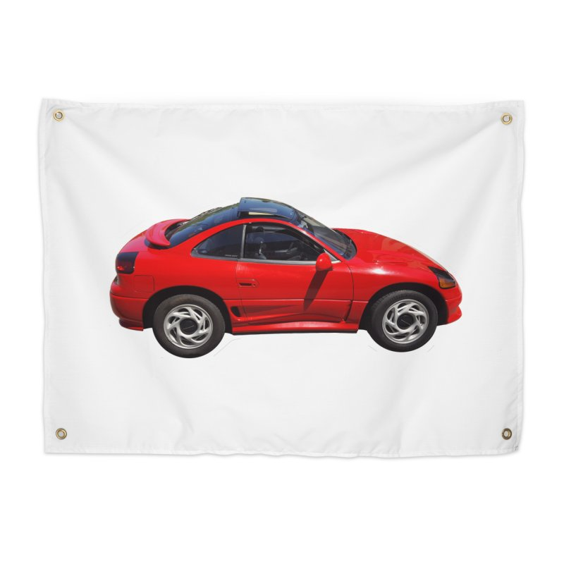 Mini Dodge Stealth RT Home Tapestry by Pixel Panzers's Merch Emporium