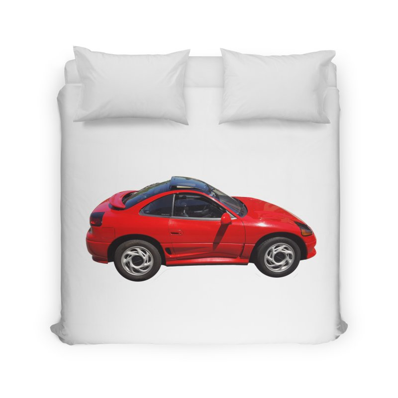 Mini Dodge Stealth RT Home Duvet by Pixel Panzers's Merch Emporium