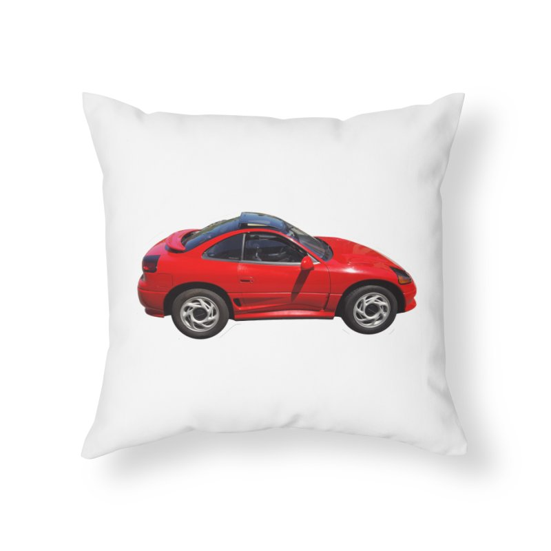 Mini Dodge Stealth RT Home Throw Pillow by Pixel Panzers's Merch Emporium