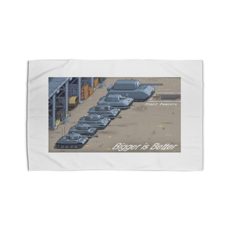 WWII Germany - Bigger is Better Home Rug by Pixel Panzers's Merch Emporium