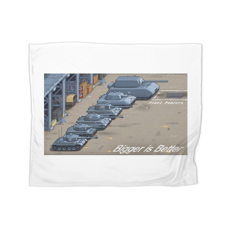 WWII Germany - Bigger is Better Home Blanket by Pixel Panzers's Merch Emporium