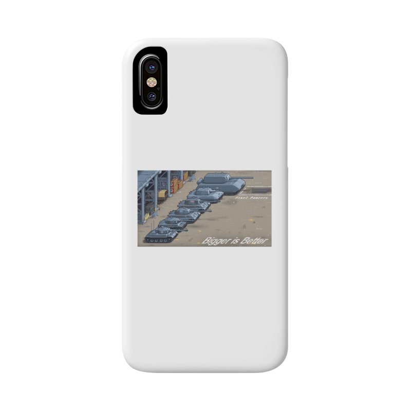WWII Germany - Bigger is Better Accessories Phone Case by Pixel Panzers's Merch Emporium