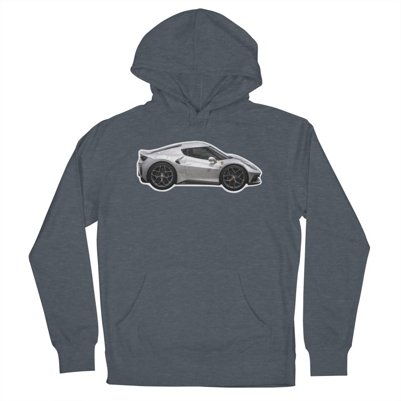 Mini Ferrari 458 MM Speciale Women's Pullover Hoody by Pixel Panzers's Merch Emporium