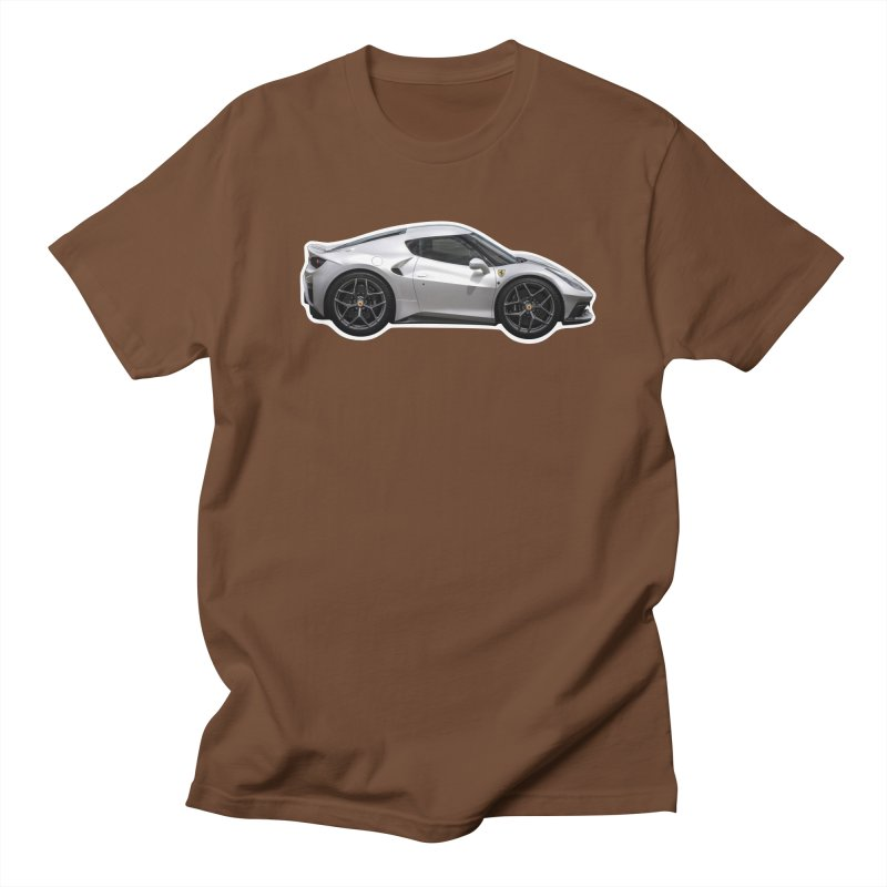 Mini Ferrari 458 MM Speciale Men's T-Shirt by Pixel Panzers's Merch Emporium