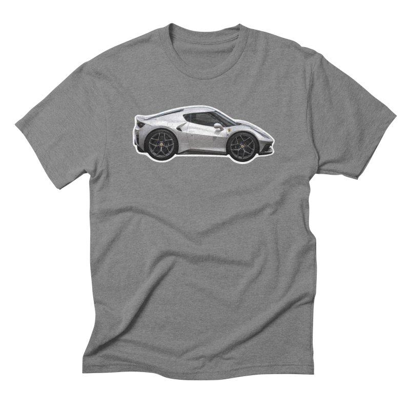 Mini Ferrari 458 MM Speciale Men's Triblend T-Shirt by Pixel Panzers's Merch Emporium