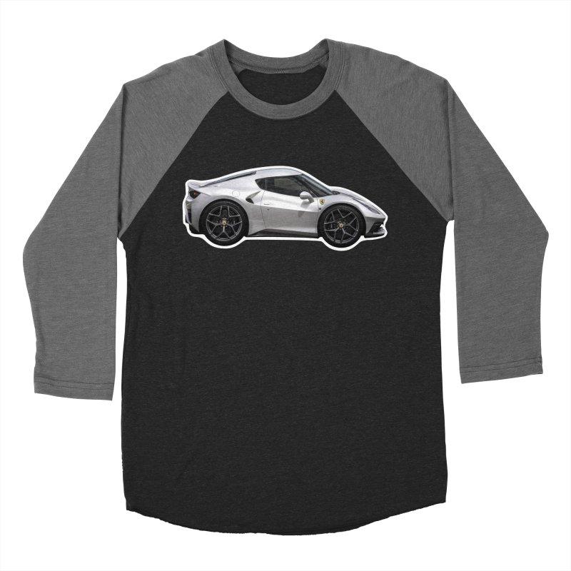 Mini Ferrari 458 MM Speciale Men's Baseball Triblend T-Shirt by Pixel Panzers's Merch Emporium