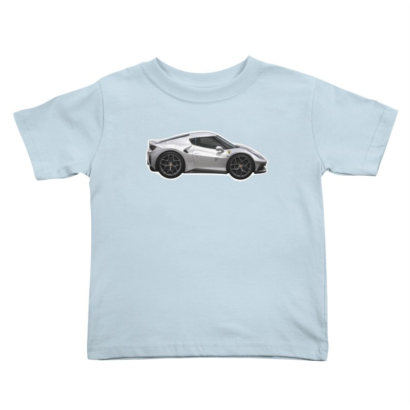 Mini Ferrari 458 MM Speciale Kids Toddler T-Shirt by Pixel Panzers's Merch Emporium