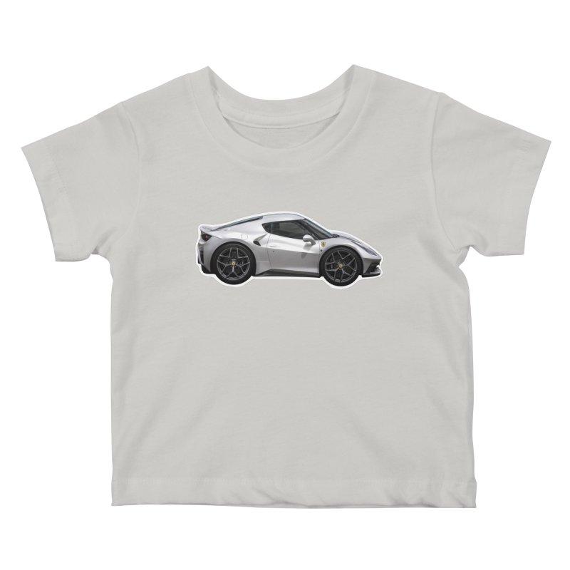 Mini Ferrari 458 MM Speciale Kids Baby T-Shirt by Pixel Panzers's Merch Emporium