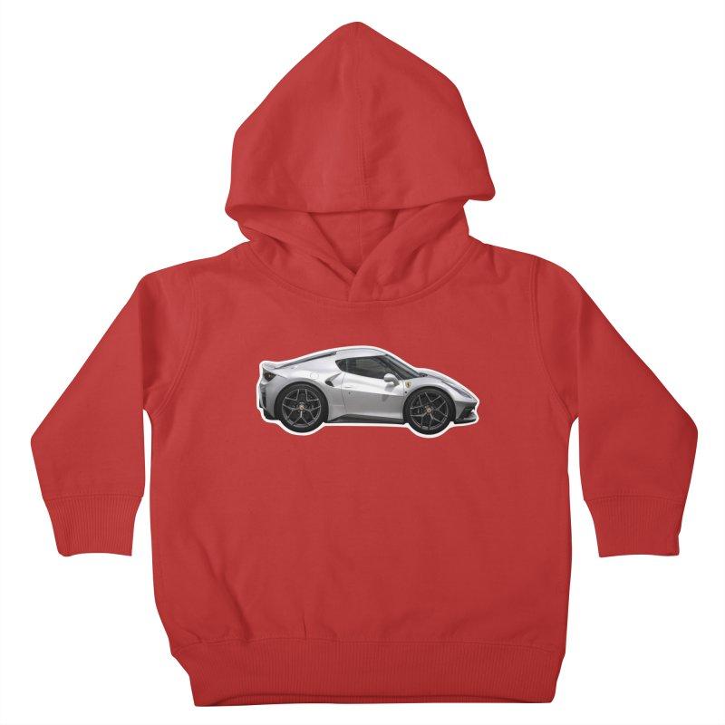 Mini Ferrari 458 MM Speciale Kids Toddler Pullover Hoody by Pixel Panzers's Merch Emporium