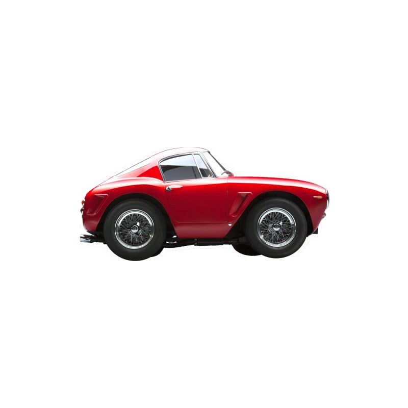 Mini Ferrari 250 GT SWB 10 by Pixel Panzers's Merch Emporium