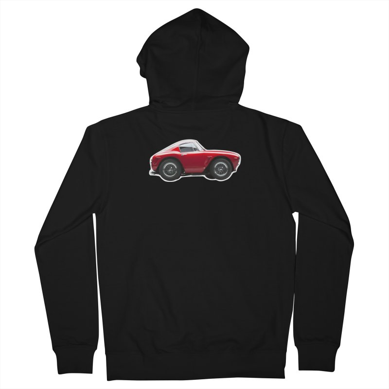 Mini Ferrari 250 GT SWB 10 Women's Zip-Up Hoody by Pixel Panzers's Merch Emporium