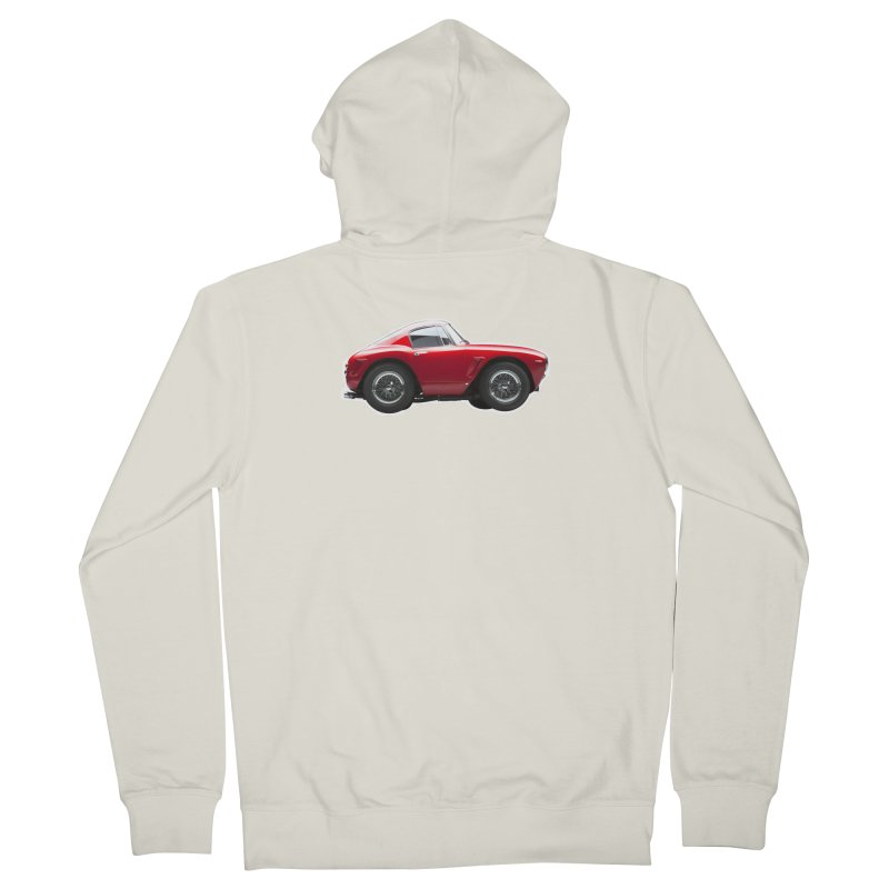 Mini Ferrari 250 GT SWB 10 Men's Zip-Up Hoody by Pixel Panzers's Merch Emporium