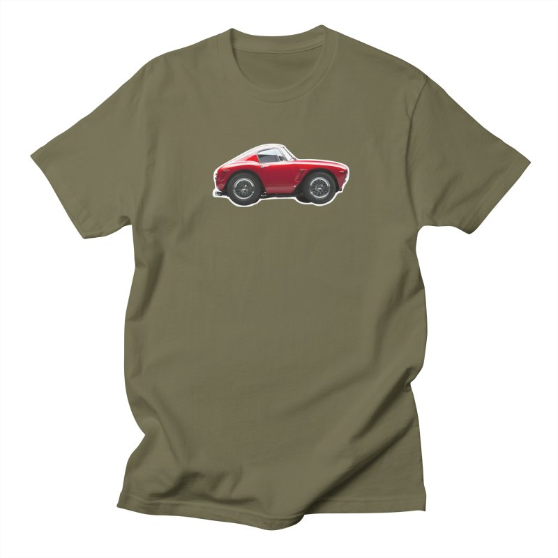 Mini Ferrari 250 GT SWB 10 Men's T-Shirt by Pixel Panzers's Merch Emporium
