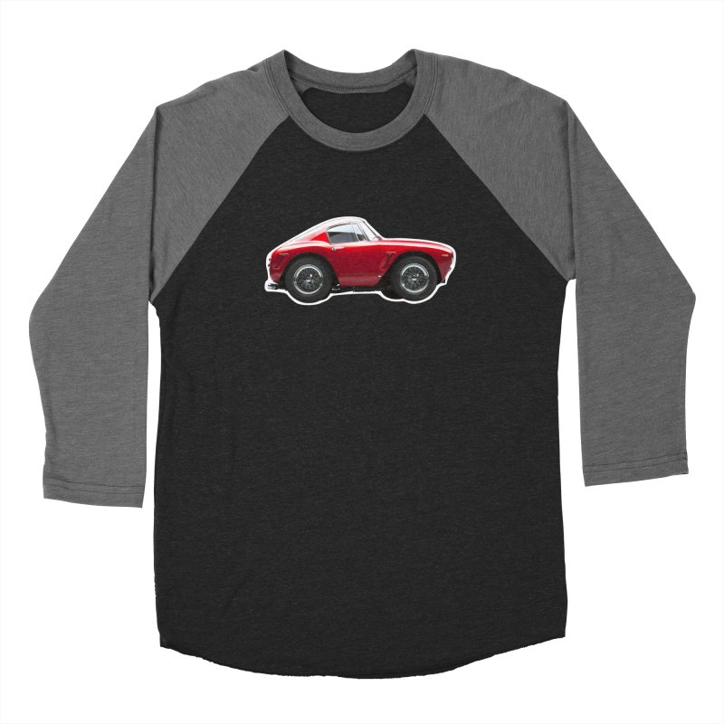 Mini Ferrari 250 GT SWB 10 Men's Baseball Triblend T-Shirt by Pixel Panzers's Merch Emporium